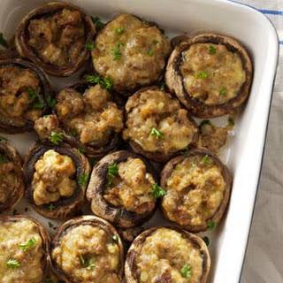 Sausage Mushroom Appetizers