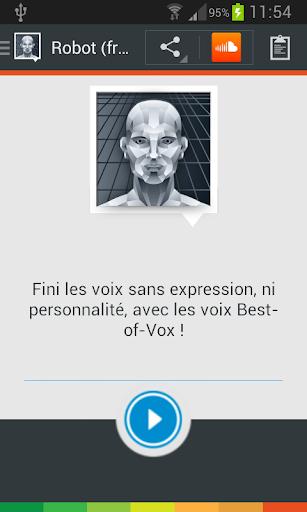 Voix Robot français