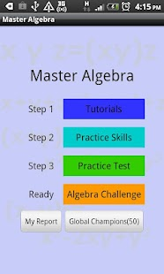 Master-Algebra Screenshot