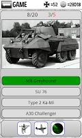 Screenshot of Tank Quiz
