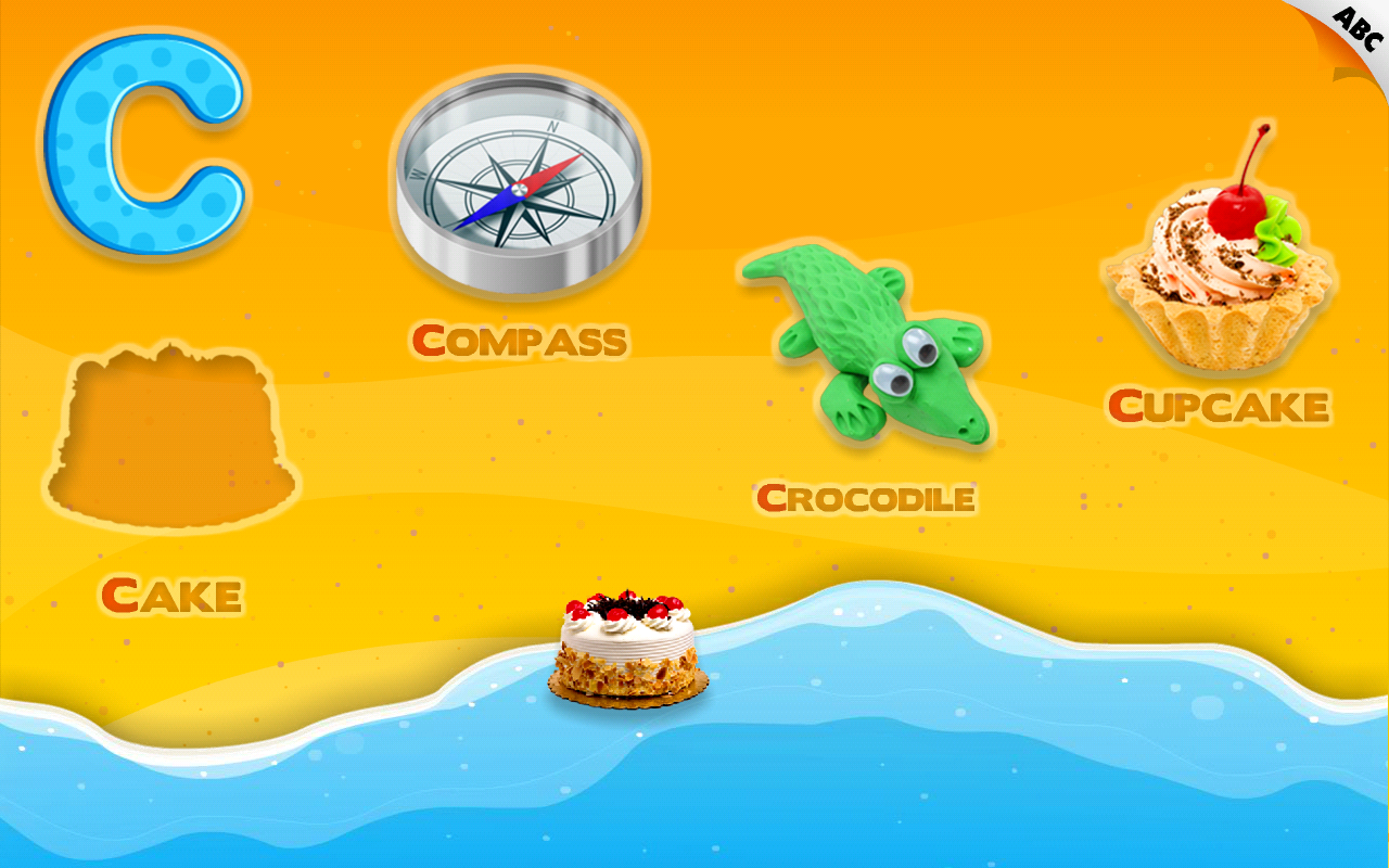 Kids Alphabet Aquarium School - screenshot