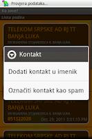 Screenshot of Ko zove?