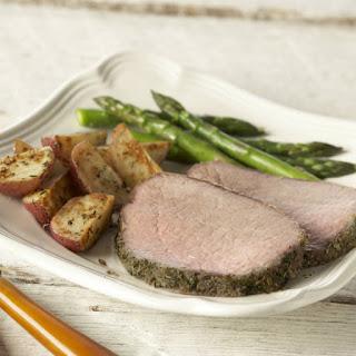 Herbed Roast Beef.