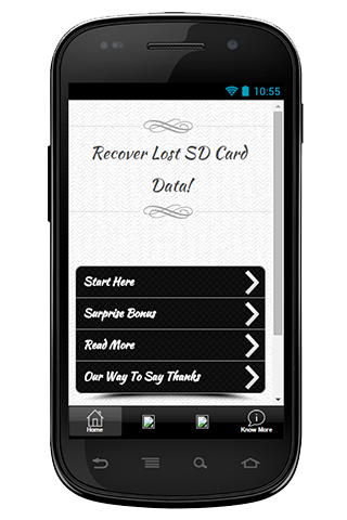 Recover Lost SD Card Data Tip