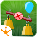 Balance me - math puzzle game icon
