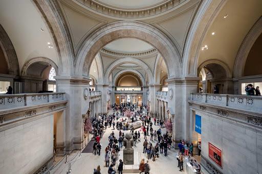 The Metropolitan Museum of Art main hall in New York.