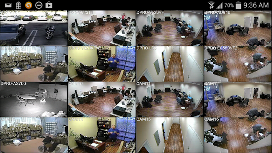 iDVR-PRO Viewer: CCTV DVR App- screenshot thumbnail