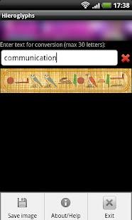 Hieroglyphs- screenshot thumbnail