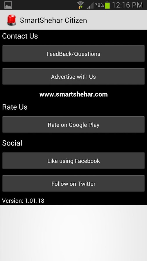 Mumbai Citizen by SmartShehar- screenshot