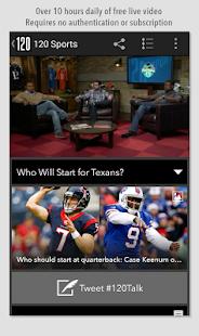 120 Sports Screenshot 2