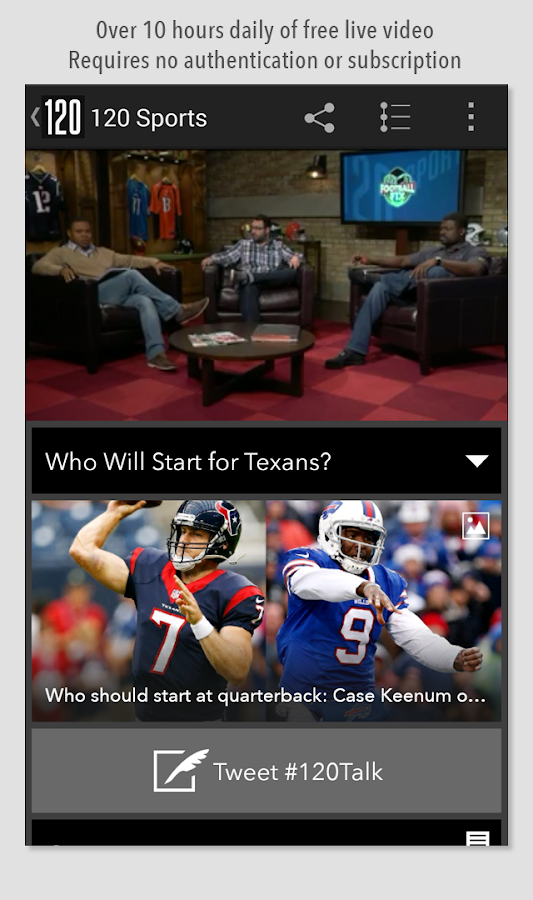 120 Sports - screenshot
