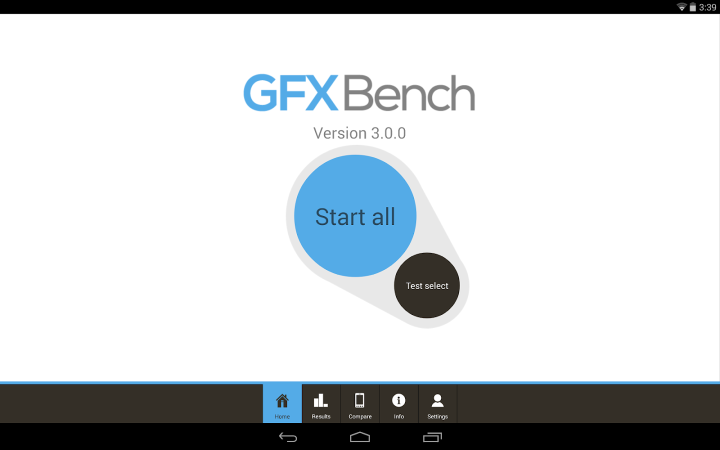 GFXBench GL Benchmark 3.0- screenshot