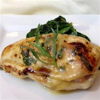 Cordon Bleu Rollups with Honey Mustard Wine sauce