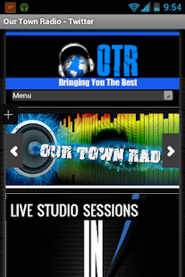 OUR TOWN RADIO - screenshot thumbnail