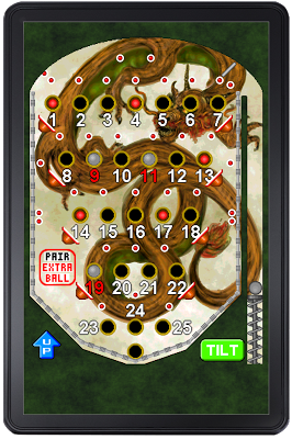 Bingo Pinball Dragon - screenshot