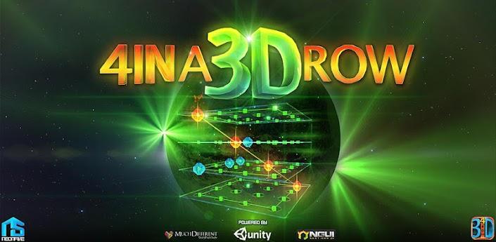 4 IN A 3D ROW - 3D головоломка для Андроид