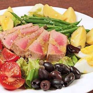 Salade Niçoise with Pan-Seared Tuna.