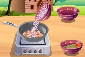 Screenshot of Cassoulet Cooking