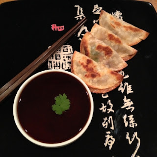 Healthy Baked Pot Stickers