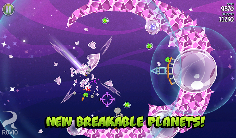 Angry Birds Space - screenshot