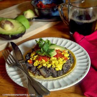 Tofu Huevos Rancheros