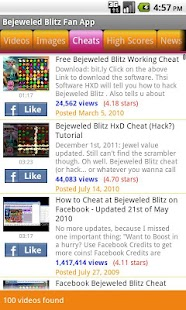 Bejeweled Blitz Fan App - screenshot thumbnail