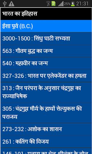 history - bhartiya itihas