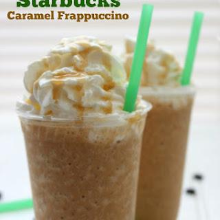 CopyCat Starbucks Caramel Frappuccino.