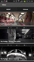 Screenshot of The Prodigy