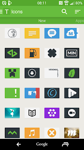 Tendere - Icon Pack - screenshot thumbnail