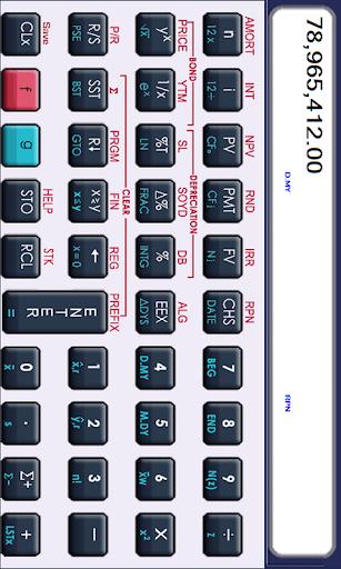 MxCalculator 12C 금융