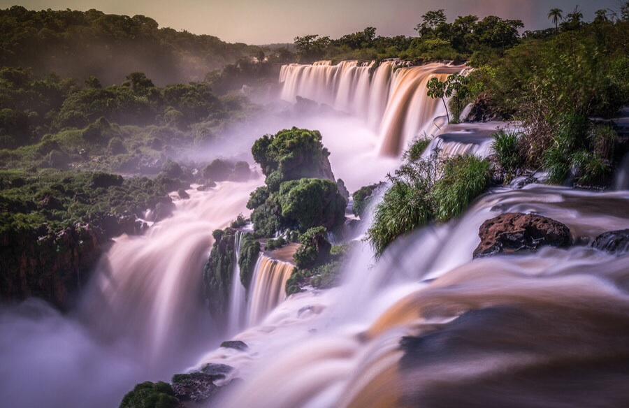 Iguazu by Wave Faber - Landscapes Waterscapes