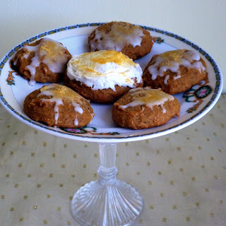 Iced Pumpkin Cookies for Emma's Golden Birthday