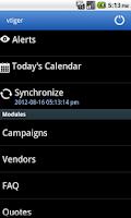 Screenshot of Vtiger CRM Mobile
