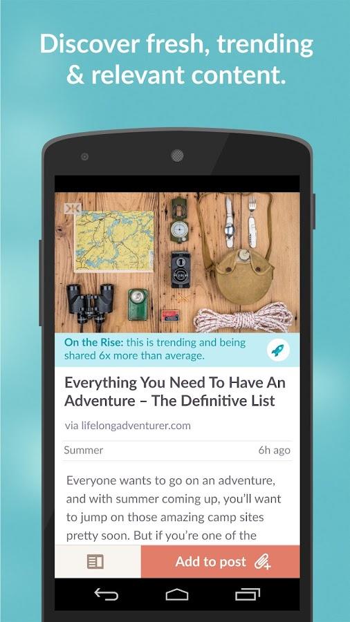 Klout - screenshot