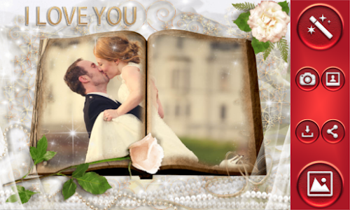 I Love You Photo Frames screenshot 1