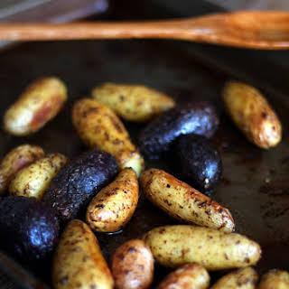 "Roasted ""Buttery"" Fingerling Potatoes."
