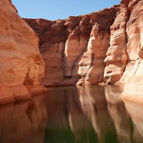 Lake Powell by Merna Nobile - Landscapes Deserts