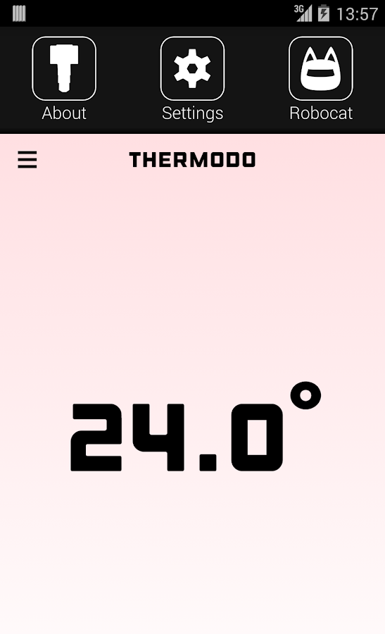Thermodo - screenshot