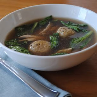 Smoked Matzo Ball Soup