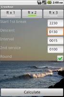 Screenshot of Crew Rest
