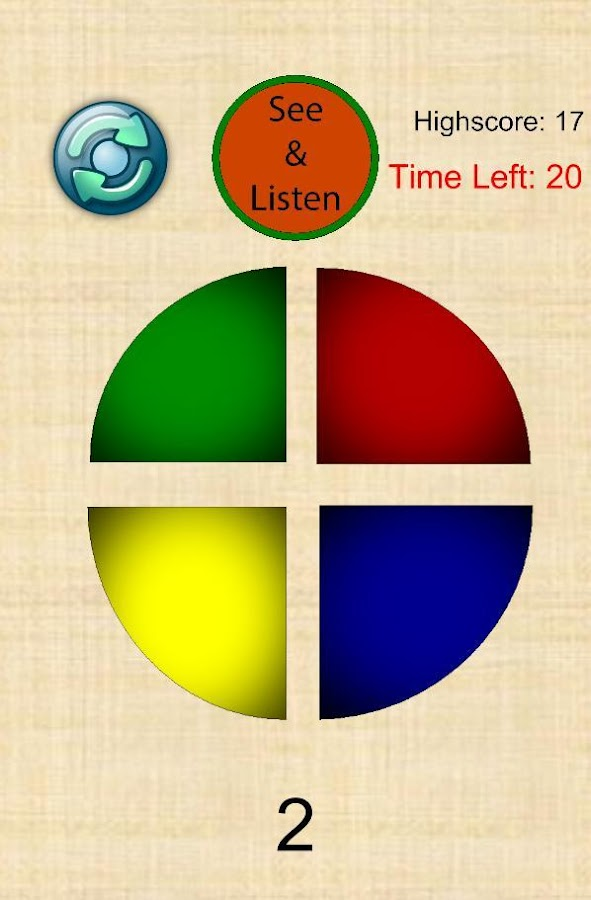 Memory Training - Simon Says- screenshot