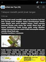 Screenshot of Burung Parkit