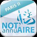 Annuaire notaires Paris II