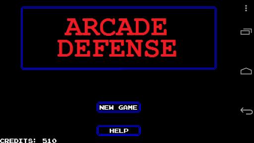 Arcade Defense
