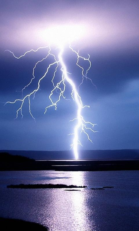 3D Lightning HD Live Wallpaper - screenshot