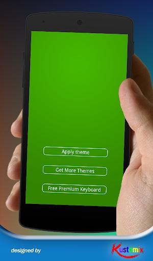 Green Keyboard Theme