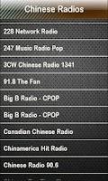 Screenshot of Chinese Radio Chinese Radios