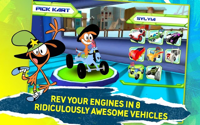 Disney XD Grand Prix - screenshot