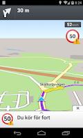 Screenshot of Telenor Navigation
